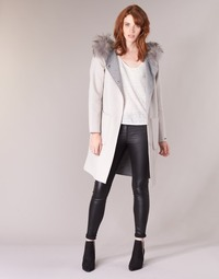 Kleidung Damen Mäntel Oakwood YALE BI Beige / Grau
