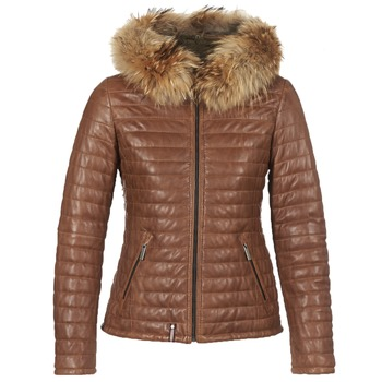Kleidung Damen Daunenjacken Oakwood HAPPY Cognac