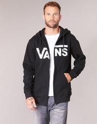 Kleidung Herren Sweatshirts Vans VANS CLASSIC ZIP HOODIE Schwarz