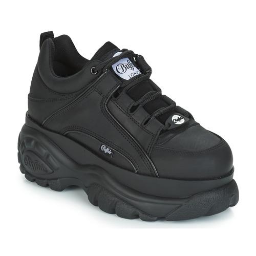 Buffalo Noumera Schwarz Kostenloser Versand Spartoo De Schuhe Sneaker Low Damen 169 00