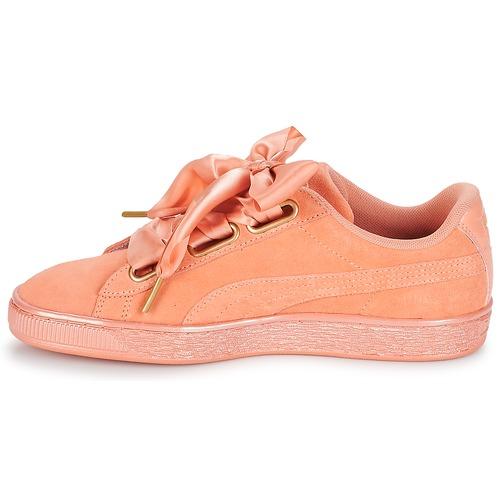 Puma WN SUEDE HEART SATIN.DUSTY Orange  Schuhe Turnschuhe Low Low Low Damen 798cb7