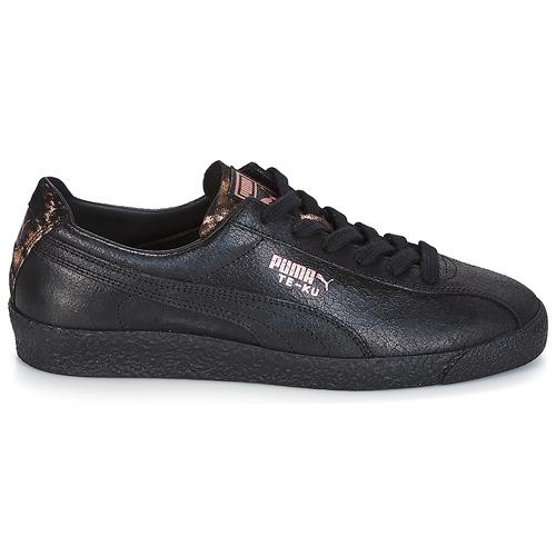 Puma WN TE-KU ARTICA.BLACK-BLAC Schwarz Damen  Schuhe Sneaker Niedrig Damen Schwarz 99,99 1377cf