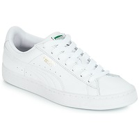 Schuhe Sneaker Low Puma BASKET CLASSIC LFS.WHT Weiss