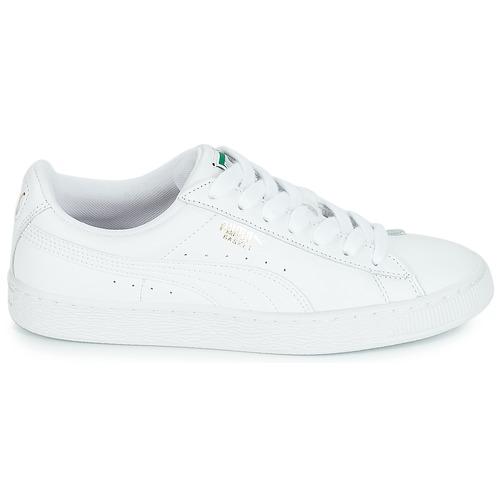 Puma BASKET CLASSIC LFS.WHT Weiss  Schuhe Sneaker Low 89,99  89,99 Low ce7439