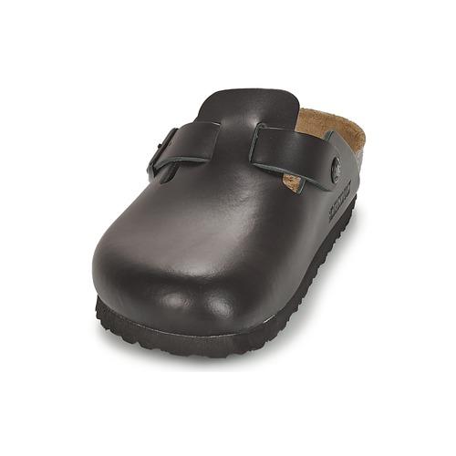 Birkenstock BOSTON Schwarz  Schuhe Pantoletten Pantoletten Schuhe / Clogs  99,99 c2825c