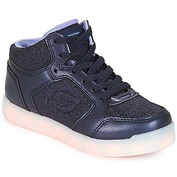 Schuhe Mädchen Sneaker High Skechers ENERGY LIGHTS Navy