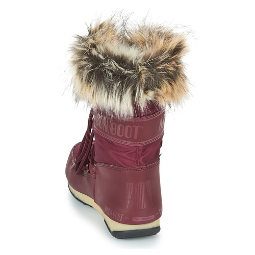 Moon Boot MONACO LOW Damen WP Bordeaux  Schuhe Schneestiefel Damen LOW 149 49c32b