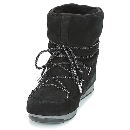 Moon Boot  LOW SUEDE WP Schwarz  Boot Schuhe Schneestiefel Damen 179,90 294dd0