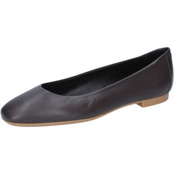 Schuhe Damen Ballerinas Bally Shoes ballerinas braun leder BY22 braun