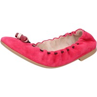 Schuhe Damen Ballerinas Bally Shoes ballerinas pink fucsia wildleder BY28 pink
