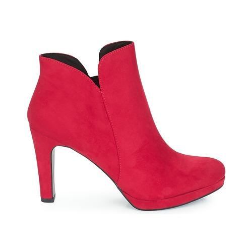 Tamaris LYCORIS Bordeaux Damen  Schuhe Low Boots Damen Bordeaux 59,95 dd4ede