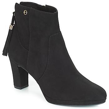 Schuhe Damen Low Boots Tamaris MAURA Schwarz