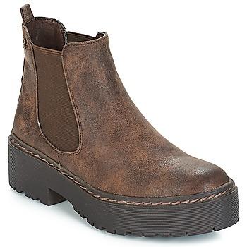 Schuhe Damen Boots Refresh SOBAO Braun