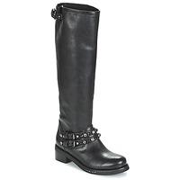 Schuhe Damen Klassische Stiefel Mimmu MELVYN Schwarz