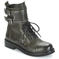 Schuhe Damen Boots Mimmu MICHEE Kaki