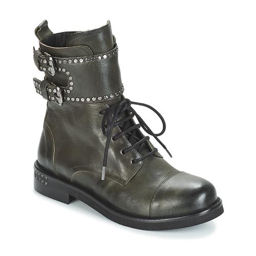 Mimmu MICHEE Kaki Schuhe Boots Damen 179,40