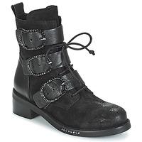 Schuhe Damen Boots Mimmu MOEZ Schwarz