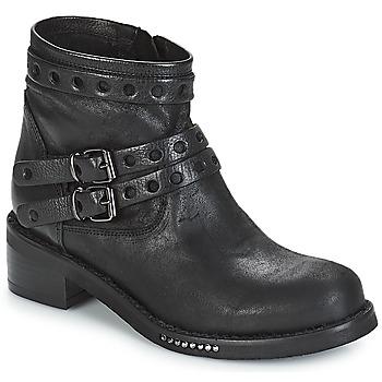 Schuhe Damen Boots Mimmu MAIRON Schwarz