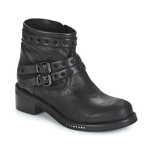 Mimmu MAIRON Schwarz  Schuhe Boots Damen 180,70