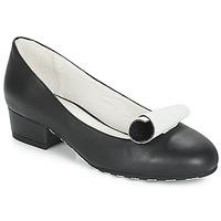 Schuhe Damen Ballerinas Lola Ramona ALICE Schwarz / Weiss