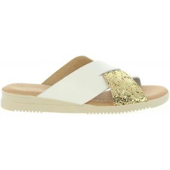 Schuhe Damen Pantoffel Cumbia 20571 Gold