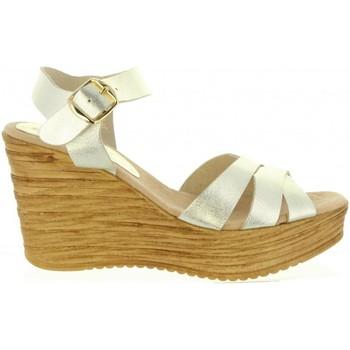 Schuhe Damen Sandalen / Sandaletten Cumbia 31001 Gold