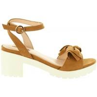 Schuhe Damen Sandalen / Sandaletten Chika 10 FIONA 01 Marrón
