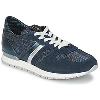Schuhe Damen Sneaker Low Serafini LOS ANGELES Blau