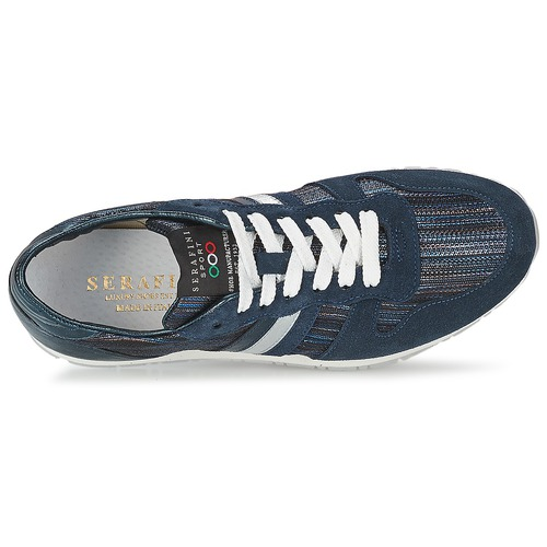 Serafini LOS ANGELES Blau Schuhe Sneaker Low Damen 75,90