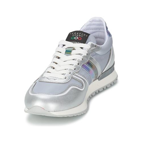 Serafini LOS ANGELES Silber / Grau  Schuhe Sneaker Low Damen 148