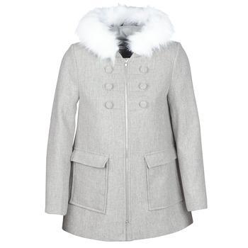 Kleidung Damen Mäntel Naf Naf AZALI Grau