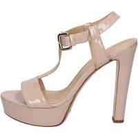 Schuhe Damen Sandalen / Sandaletten Mi Amor sandalen pink cipria lack BY169 pink