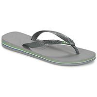 Schuhe Zehensandalen Havaianas BRASIL Grau