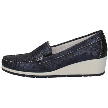 Schuhe Damen Slipper Imac 105350 D BLUE