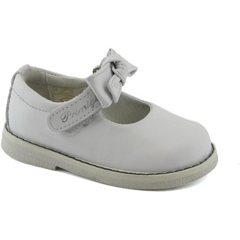 Schuhe Kinder Ballerinas Primigi 1353511 weiße Mädchen Schuhe Ballerinas verstellbarer Schrauben Bianco