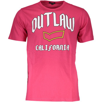 Kleidung Herren T-Shirts Gas GATS01CALI AB30 ROSA 3-RED 0080