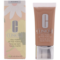 Beauty Damen Make-up & Foundation  Clinique Stay-matte Oil-free Makeup 09-neutral  30 ml