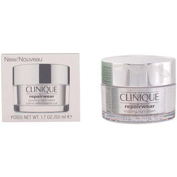 Beauty Damen pflegende Körperlotion Clinique Repairwear Uplifting Sculpting Night Cream  50 ml