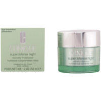 Beauty pflegende Körperlotion Clinique Superdefense Night Recovery Moisturizer Iii/iv  50 ml