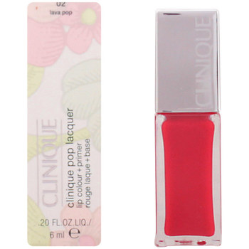 Beauty Damen Lippenstift Clinique Pop Lacquer Lip Colour + Primer 02-lava Pop  6 ml