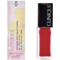 Beauty Damen Lippenstift Clinique Pop Liquid Matte Lip Colour + Primer 02-flame Pop  6 m