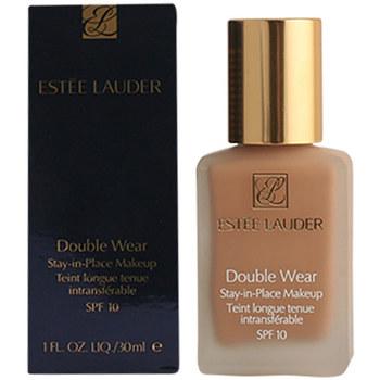 Beauty Damen Make-up & Foundation  Estee Lauder Double Wear Fluid Spf10 02-pale Almond  30 ml