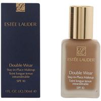 Beauty Damen Make-up & Foundation  Estee Lauder Double Wear Fluid Spf10 04-pebble  30 ml