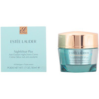 Beauty Anti-Aging & Anti-Falten Produkte Estee Lauder Nightwear Plus Anti-oxidant Night Detox Creme  50 m