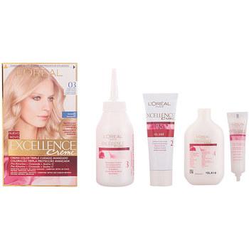 Beauty Damen Accessoires Haare L'oréal Excellence Creme Tinte 03 Rubio Ultra Claro Ceniza 1 u
