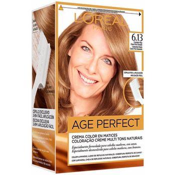 Beauty Haarfärbung L'oréal Excellence Age Perfect Tinte 6,13 Castaño Claro Frío Dorado