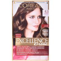 Beauty Damen Accessoires Haare L'oréal Excellence Creme Tinte 4,3 Chocolate Caramelo