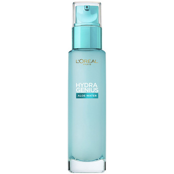 Beauty Damen pflegende Körperlotion L'oréal Hydra Genius Aloe Water Piel Mixta A Grasa  70 m