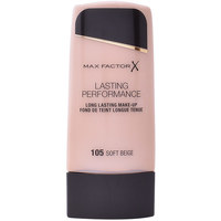 Beauty Damen Make-up & Foundation  Max Factor Lasting Performance Touch Proof 105-soft Beige 35 ml