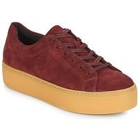 Schuhe Damen Sneaker Low Vagabond JESSIE Bordeaux